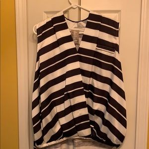 Anthropologie sleeveless blouse
